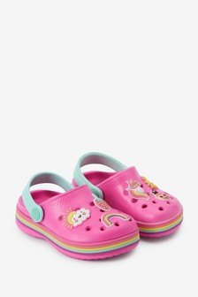 Pink Unicorn Clogs