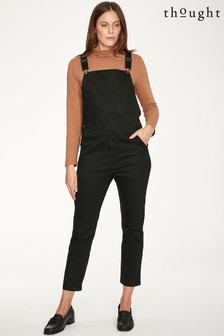 Thought Black Ottoline Dungarees