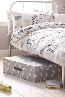 Mono Pattern Underbed Storage
