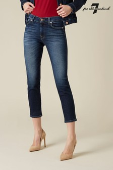 7 For All Mankind Dark Denim Roxanne Jeans