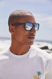 Matte Grey Sunglasses