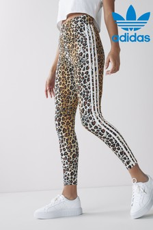 adidas Originals 3 Stripe Leopard Lux Leggings