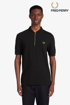 Fred Perry Zip Neck Polo