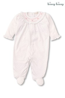 Kissy Kissy Pink Bishop Romper
