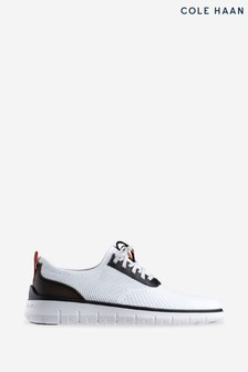 Cole Haan White Generation Zerogrand Stitchlite Lace-Up Shoes
