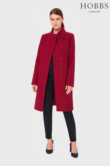 Hobbs Red Maisie Coat