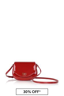 Girls Red Patent Bag