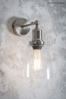 Hoxton Dome Wall Light by Garden Trading