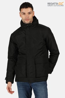 Regatta Black Sterlings Ii Waterproof Jacket