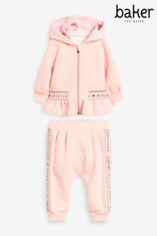 Baker by Ted Baker Baby Girl Sweat 3 Piece Set