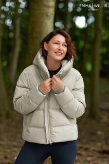 Neutral Emma Willis Rubber Puffer Coat