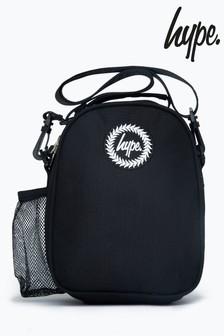Hype. Black Maxi Lunch Bag