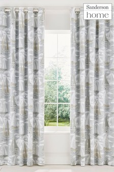 Sanderson Home Sailor Lined Eyelet Curtains