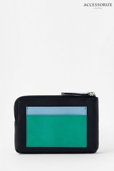 Accessorize Blue Chloe Coin And Cardholder Purse