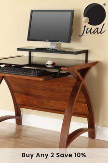 Helsinki 900 Walnut Desk by Jual