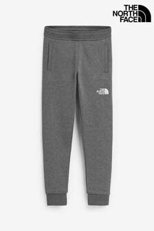 The North Face® Grey Youth Camo Fleece Joggers