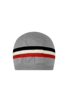 Baby Boys Grey Wool Hat