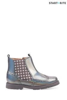 Start-Rite Metallic Chelsea Boots