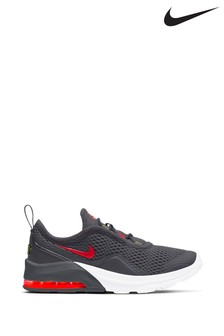 Nike Charcoal/White Air Max Motion Junior Trainers
