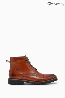 Oliver Sweeney Hand Finished Leather Boots