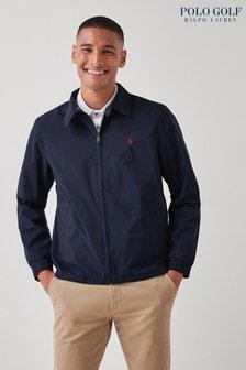 Polo Golf by Ralph Lauren Navy Bi Swing Zip Jacket
