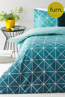 Exclusive to Next Spectrum Duvet Cover and Pillowcase Set by Furn