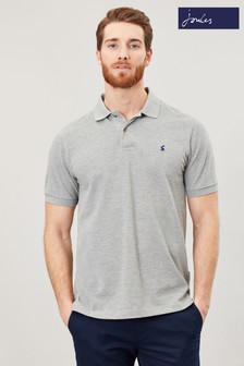 Joules Grey Woody Classic Poloshirt