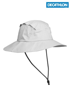 Decathlon Waterproof Trek 900 Light Grey 56-58cm Forclaz Hat