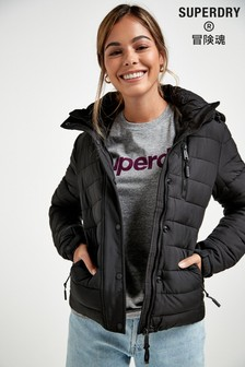 Superdry Black Fuji Padded Jacket