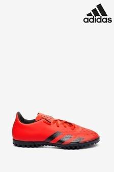 adidas Red Predator P4 Kids Turf Football Boots