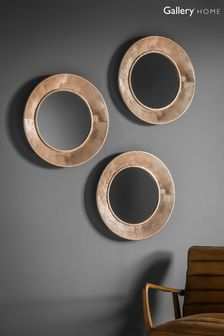 Knowle Trio Circles Mirrors by Gallery Direct