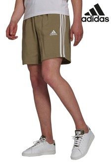 adidas French Terry 3 Stripe Shorts