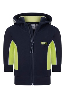 Baby Boys Zip Up Top
