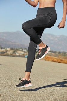 Black Running Technical Leggings
