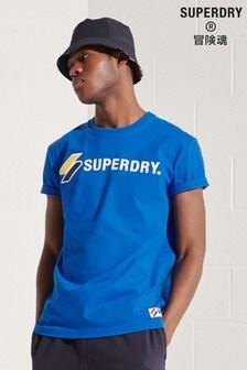Superdry Sportstyle Appliqué T-Shirt
