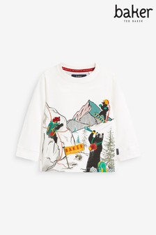 Baker by Ted Baker Bear Graphic T-Shirt
