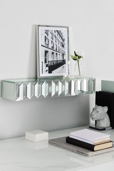 Domino Mirrored Shelf