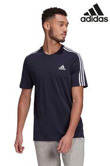 adidas 3 Stripe T-Shirt