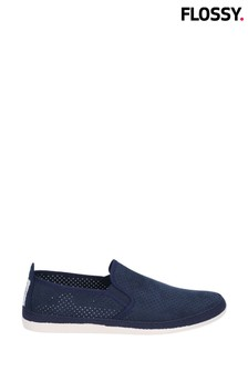 Flossy Blue Vendarval Slip-On Shoes