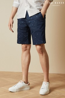 Ted Baker Pepee Beach Printed Shorts