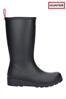 Hunter Black Original Play Tall Wellington Boots