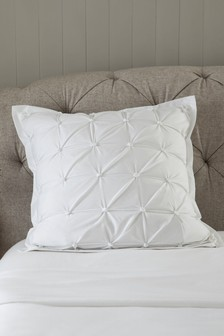 All Over Pleated Cushion Cover