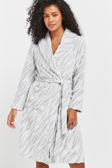 Grey Carved Robe