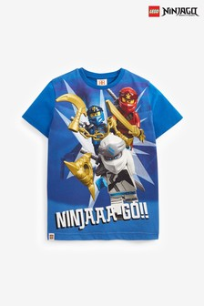 Blue LEGO® Ninjago T-Shirt (2-12yrs)