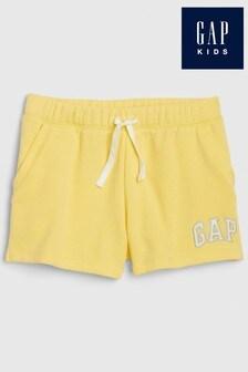 Gap Yellow Knit Shorts