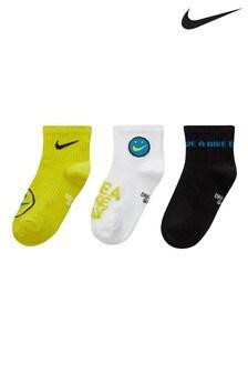 Nike Kids Volt Ankle Socks 3 Pack