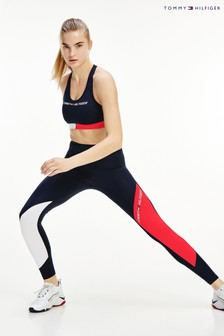Tommy Hilfiger Blue Colourblock Leggings