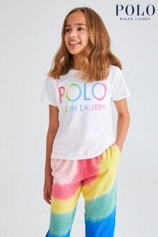 Ralph Lauren White Polo T-Shirt