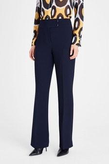 Damsel In A Dress Blue Nina City Suit Trousers