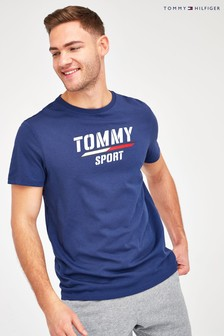 Tommy Hilfiger Blue Logo Branded T-Shirt